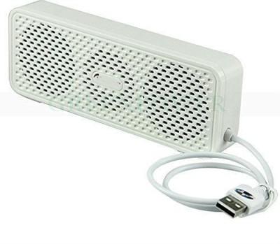 Shrih Mini Smart USB Portable Mobile/Tablet Speaker(White, NA Channel)