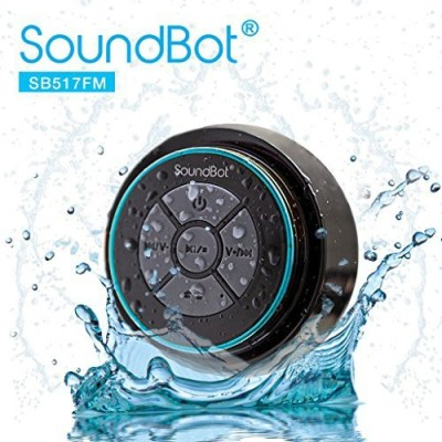 SoundBot Sb517Fm Fm Radio Bluetooth Wireless Speaker Handsfree Portable Speakerphone Waterproof Portable Bluetooth Mobile/Tablet Speaker