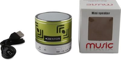Bexton TruBass Metal Lightning Portable Bluetooth Mobile/Tablet Speaker