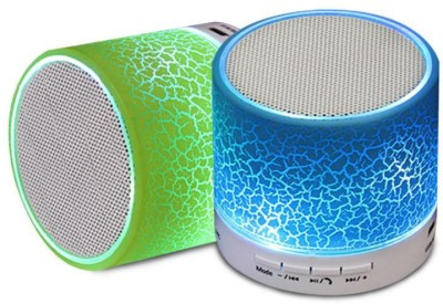 Jiyanshi S10 Portable Bluetooth Mobile/Tablet Speaker(Mullti Color, Stereo Channel)