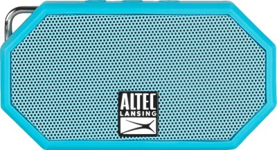 Altec Mini H2O (IMW257-AB) Portable Bluetooth Mobile/Tablet Speaker(Blue, Mono Channel)