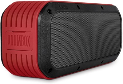 DIVOOM Voombox Outdoor Portable Bluetooth Mobile/Tablet Speaker(Red, 1 Channel)