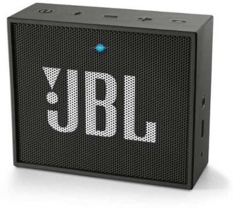 JBL Go Portable Bluetooth Mobile/Tablet Speaker(Black, 1 Channel)