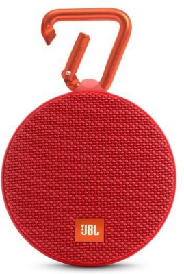 JBL Clip 2 Portable Bluetooth Mobile/Tablet Speaker(Red, Stereo Channel)