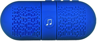 iNext IN 502 FM Portable Bluetooth Mobile/Tablet Speaker(Blue, Mono Channel)