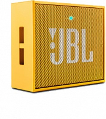 JBL Go Wireless Portable Mobile/Tablet Speaker(Yellow, 1.0 Channel)