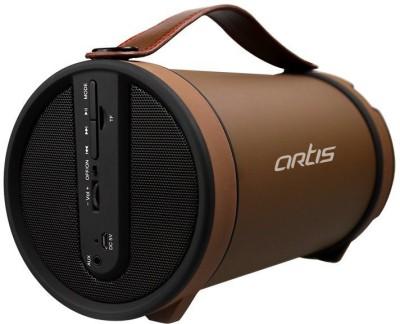 Artis BT306 Portable Bluetooth Mobile/Tablet Speaker(Brown, Mono Channel)