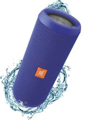 JBL FLIP 3 BLUE Portable Bluetooth Laptop/Desktop Speaker(Blue, 4.1 Channel)