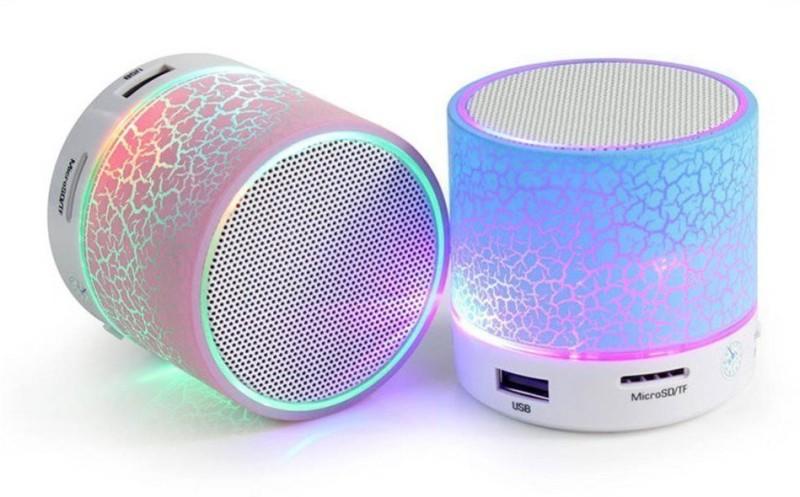 SUPER DEAL BAZZAR STORE LED Portable Portable Bluetooth Mobile/Tablet Speaker(Blue,...