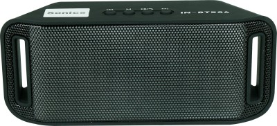 Sonics IN-BT506 Portable Bluetooth Mobile/Tablet Speaker(Black, single unit Channel)