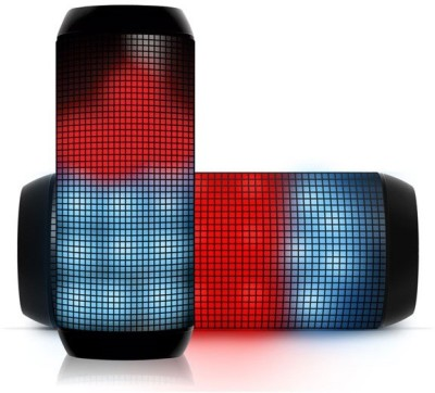 Portronics Glitz II Bluetooth Speaker with NFC Wired & Wireless Mobile/Tablet Speaker