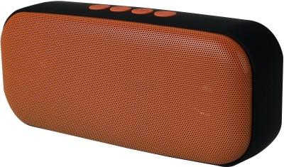 Jango HDY-555 Portable Bluetooth Sound-Pod(Supports Bluetooth,Aux,USB,TF Card) Portable Bluetooth Mobile/Tablet Speaker(Orange, Stereo Channel)
