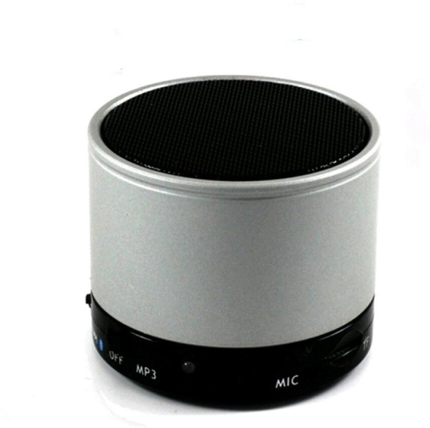 Aitec S 10 Portable Bluetooth Mobile/Tablet Speaker(Silver, 2.1 Channel)