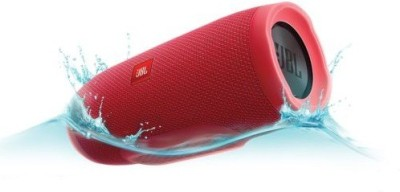JBL CHARGE 3 Portable Bluetooth Mobile/Tablet Speaker(Red, BLUETOOTH SPEAKER Channel)