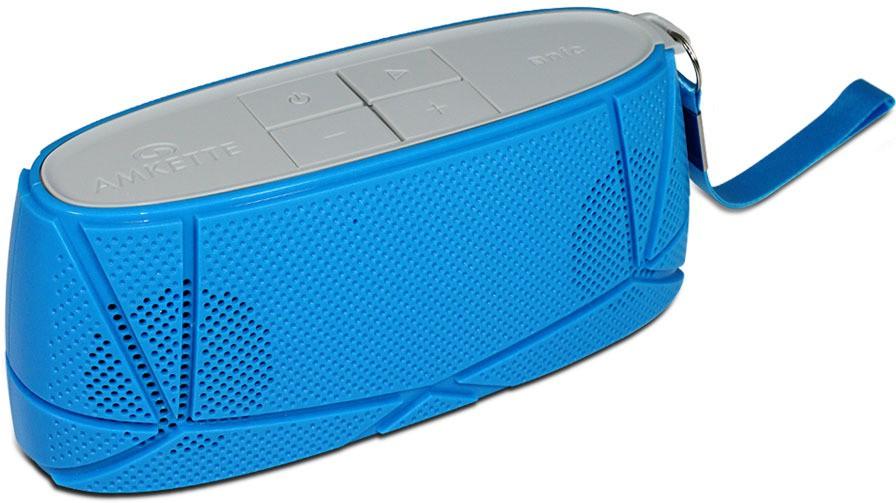 Amkette Trubeats Sonix T30 Portable Bluetooth Mobile/Tablet Speaker(Blue-Grey, 2.1 Channel)