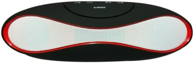 Yuvan SL BS39 FM USB/ SD Player With Mic Portable Bluetooth Mobile/Tablet Speaker(Black, 2.0 Channel)