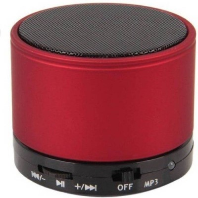 ROOQ S10RE-020 Portable Bluetooth Mobile/Tablet Speaker(Red, 2.1 Channel)