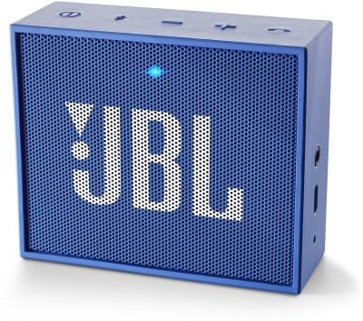 JBL GO Blue Portable Mobile/Tablet Speaker(Blue, 1 Channel)