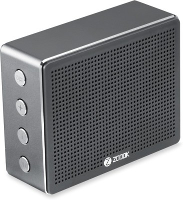 Zoook Rocker Chrome Portable Bluetooth Mobile/Tablet Speaker(Black, 2.0 Channel)