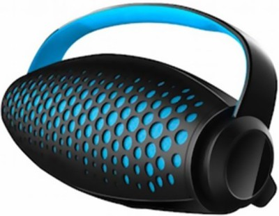 Corseca Blue Power 2 with Built-In Power Bank Portable Bluetooth Mobile/Tablet Speaker(Black, 2.0 Channel)