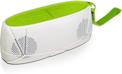 Amkette Trubeats Sonix T30 Portable Bluetooth Mobile/Tablet Speaker(White-Green, 2.1 Channel)