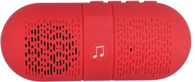 iNext IN - 502 FM Portable Bluetooth Mobile/Tablet Speaker(Red, Stereo Channel)