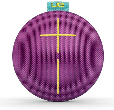 UE Roll 2 Portable Bluetooth Mobile/Tablet Speaker(Sugarplum, 2.1 Channel) at flipkart