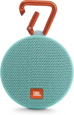 JBL CLIP 2 Portable Bluetooth Mobile/Tablet Speaker(TEAL, 2.0 Channel)