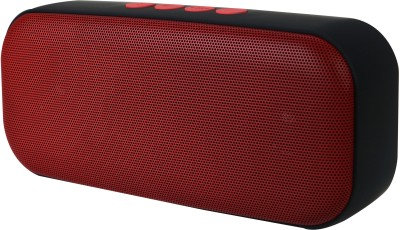 Jango HDY-555 Portable Bluetooth Sound-Pod(Supports Bluetooth,Aux,USB,TF Card) Portable Bluetooth Mobile/Tablet Speaker(Red, Stereo Channel)