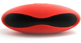 BrainBell X6 Mobile/Tablets Bluetooth Mini Wireless Speaker red-122 Wired & Wireless Mobile/Tablet Speaker