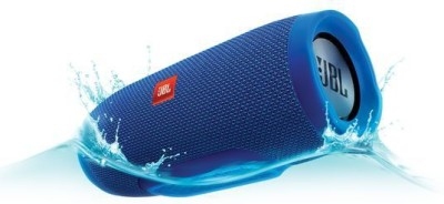 JBL Charge 3 Blue Portable Bluetooth Mobile/Tablet Speaker(Blue, 2.0 Channel Channel)