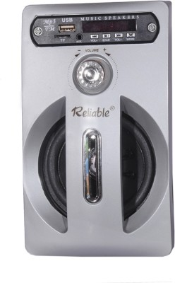 Reliable Sound box MP3 FM Radio SD Card reader USB Mobile/Tablet Speaker(Silver, 2.0 Channel)
