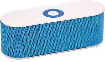 Adcom Mini Bluetooth -S207 Blue Bluetooth Home Audio Speaker
