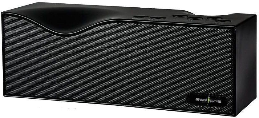 Spider Designs Curve SD-024 Portable Bluetooth Mobile/Tablet Speaker(Black, 1 Channel)