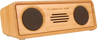 Absolute Wood Nirvana Portable Bluetooth Mobile/Tablet Speaker