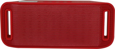 Sonics IN-BT506 Portable Bluetooth Mobile/Tablet Speaker(Red, single unit Channel)