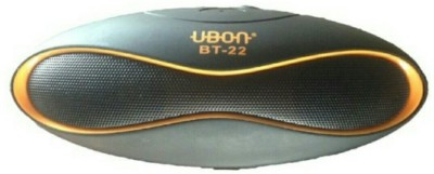 Zigshash Ubon BT22 Portable Bluetooth Mobile/Tablet Speaker(Black, 2 Channel)
