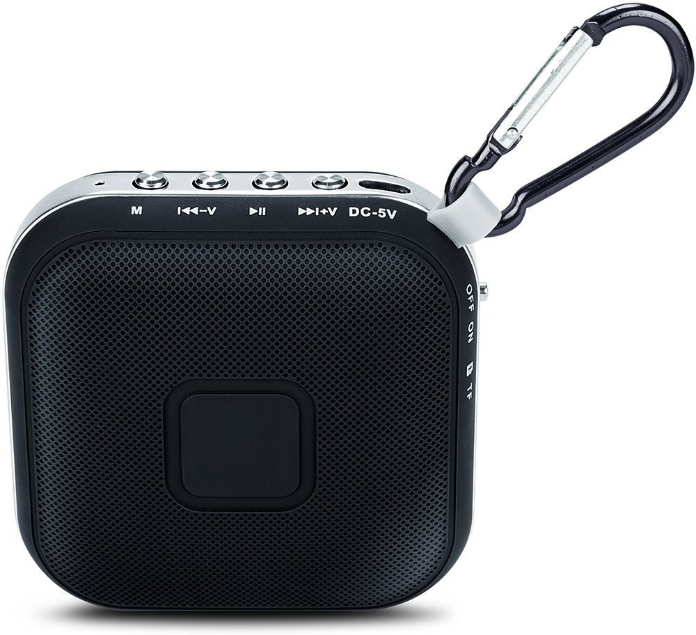 Iball MusiSQUAREBT06 Portable Bluetooth Mobile/Tablet Speaker(Black, 1 Channel)