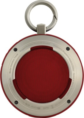 DIVOOM VOOMBOX TRAVEL Portable Bluetooth Mobile/Tablet Speaker(Black/Red, 2.1 Channel)