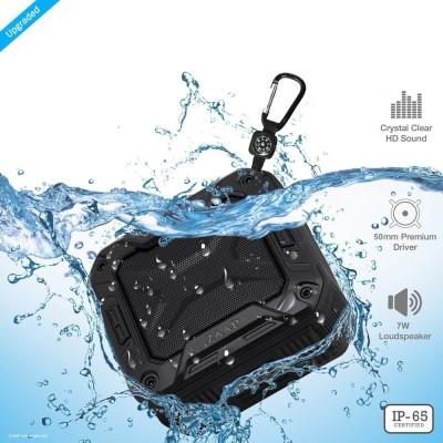 Zaap AQUA BOOM Waterproof Portable Bluetooth Mobile/Tablet Speaker(Black, Mono Channel)