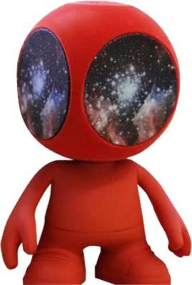 AGGADGETS Alien speaker red Portable Bluetooth Mobile/Tablet Speaker