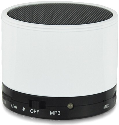 CheckSums 11610 S10 White Portable Wireless BT Speaker For Mobile Phone Portable Bluetooth Mobile/Tablet Speaker(White, Stereo Channel)