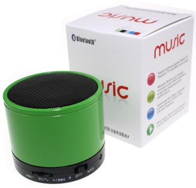 Adcom Mini Bluetooth Speaker (S10)- Green Bluetooth Mobile/Tablet Speaker