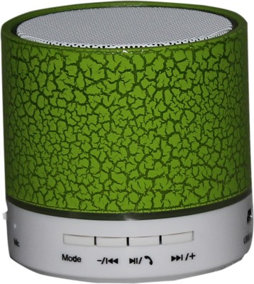 Zydeco T13 Portable Bluetooth Mobile/Tablet Speaker(Green, 2.0 Channel)