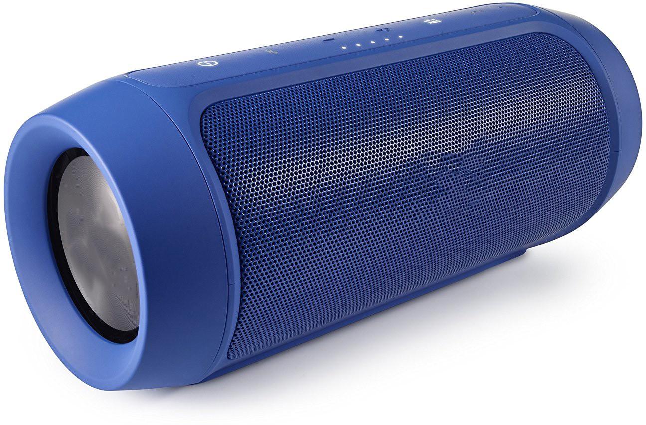 Tirupati Charge 2 Plus Portable Bluetooth Mobile/Tablet Speaker(Blue, 2.1 Channel)
