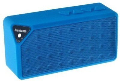 Adcom Mini-X3 Wireless _Blue Portable Bluetooth Mobile/Tablet Speaker