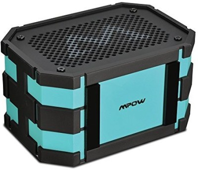 Mpow Armor Portable Wireless Bluetooth Speakers with Extral 1000 mAh Emergency Power Bank and Splashproof Shockproof Dustproof for Outdoor/Shower Portable Mobile/Tablet Speaker