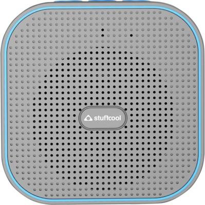 Stuffcool Monk Bluetooth Speaker Portable Bluetooth Mobile/Tablet Speaker(Grey, Blue, Mono Channel)