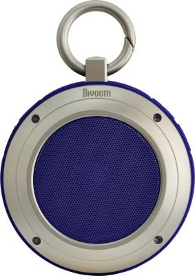 DIVOOM VOOMBOX TRAVEL Portable Bluetooth Mobile/Tablet Speaker(Black/Blue, 2.1 Channel)
