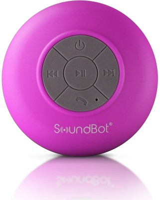 SoundBot SB510 HD Water Resistant Bluetooth 3.0 Shower Portable Speakerphone Portable Bluetooth Mobile/Tablet Speaker